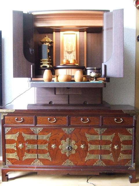 納入例 家具調仏壇12