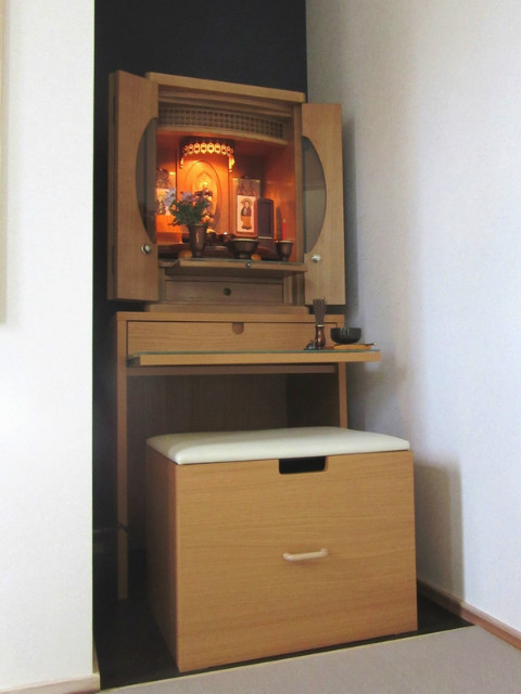 納入例 家具調仏壇13