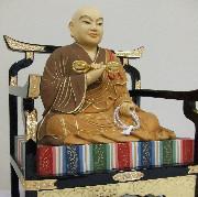仏像 座釈迦(白檀ダイヤ入)