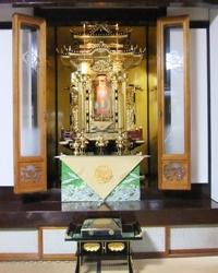 金仏壇 修復後