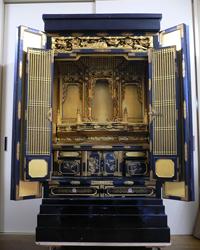 金仏壇 修復前