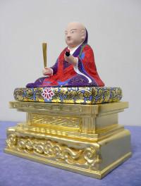 仏像の修復後