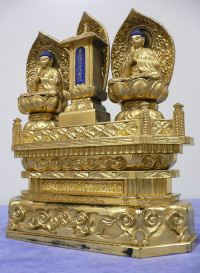 仏像の修復前