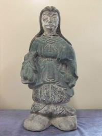 石製仏像の修復前