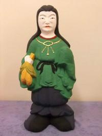 石製仏像の修復後