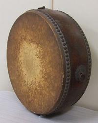 太鼓の修復前