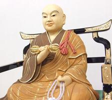 別注仏像 弘法大師 拡大画像