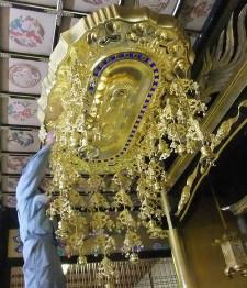 寺院本堂 大型仏具の納入例