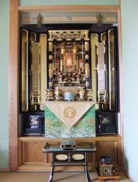 仏間の改造風景 完成画像