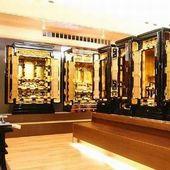 仏壇のコーナー