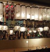 盆提灯 のコーナー
