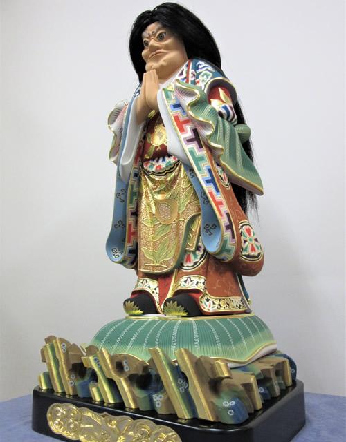 鬼子母神像修復