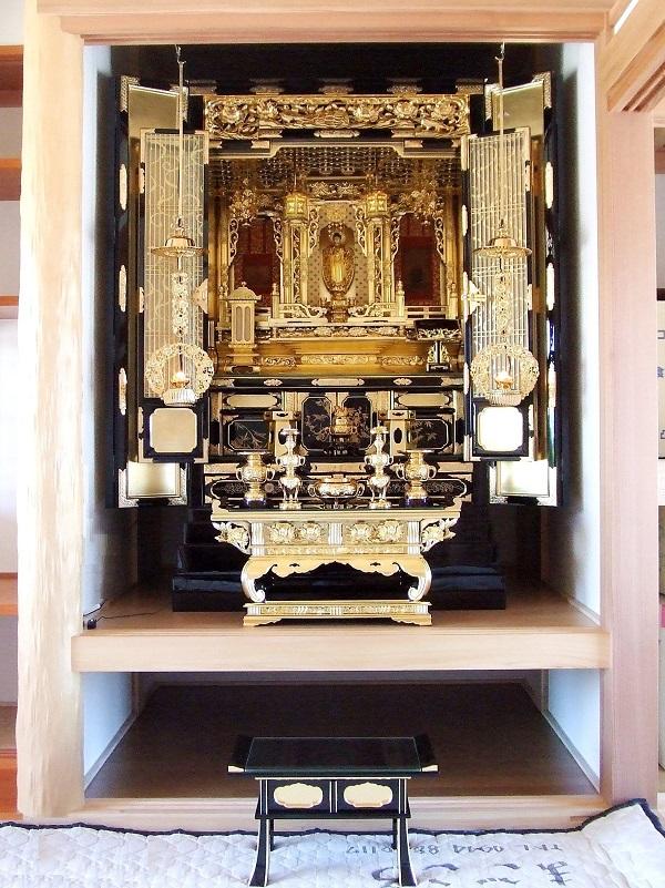 金仏壇 NO.9