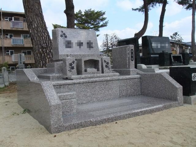墓石建立例 NO.2