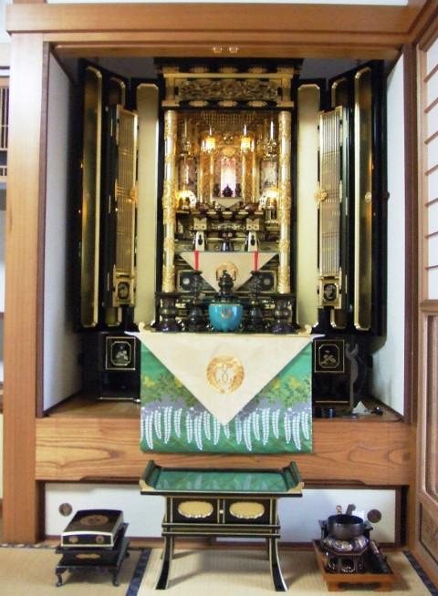 浄土真宗本願寺派 仏間巾130cm No.11