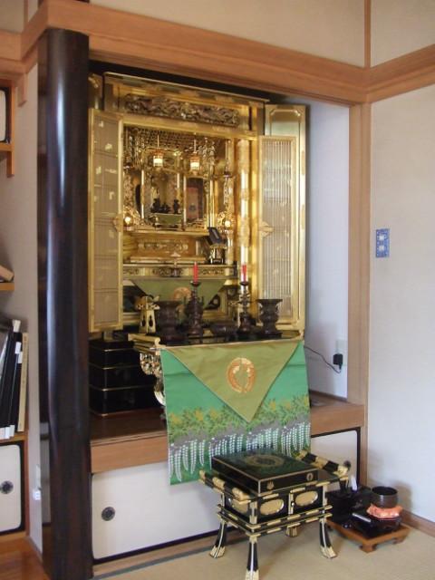 浄土真宗本願寺派 仏間巾150cm NO.12
